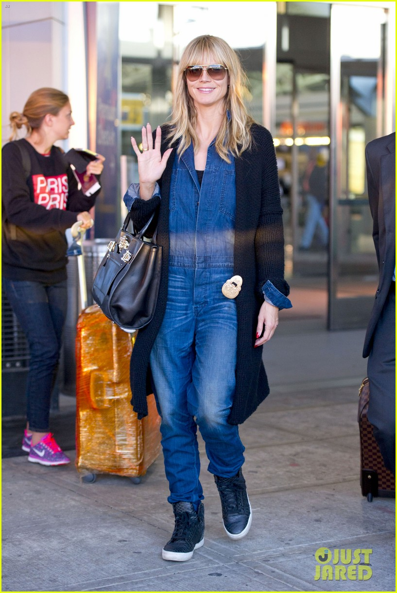 heidi klum lands in nyc after la hospital visit 29