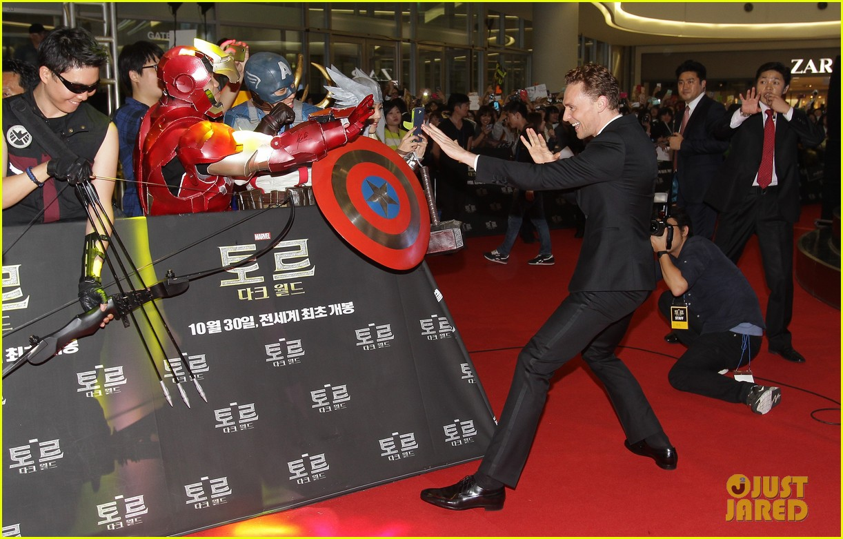 tom hiddleston thor the dark world south korea premiere 05