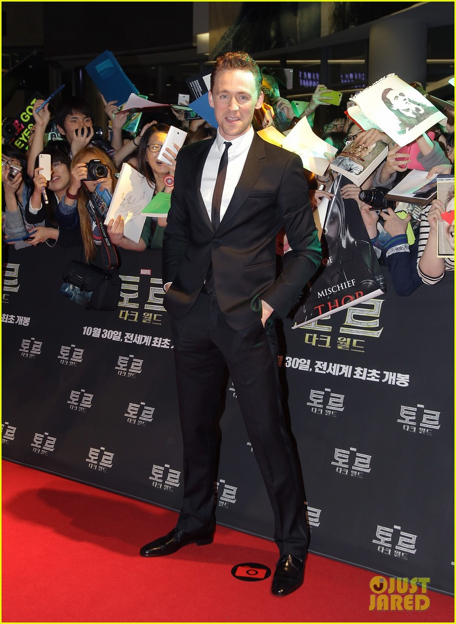 tom hiddleston thor the dark world south korea premiere 16