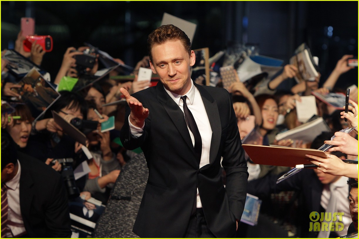 tom hiddleston thor the dark world south korea premiere 18