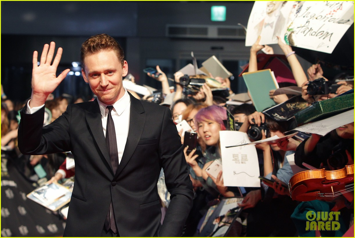 tom hiddleston thor the dark world south korea premiere 30