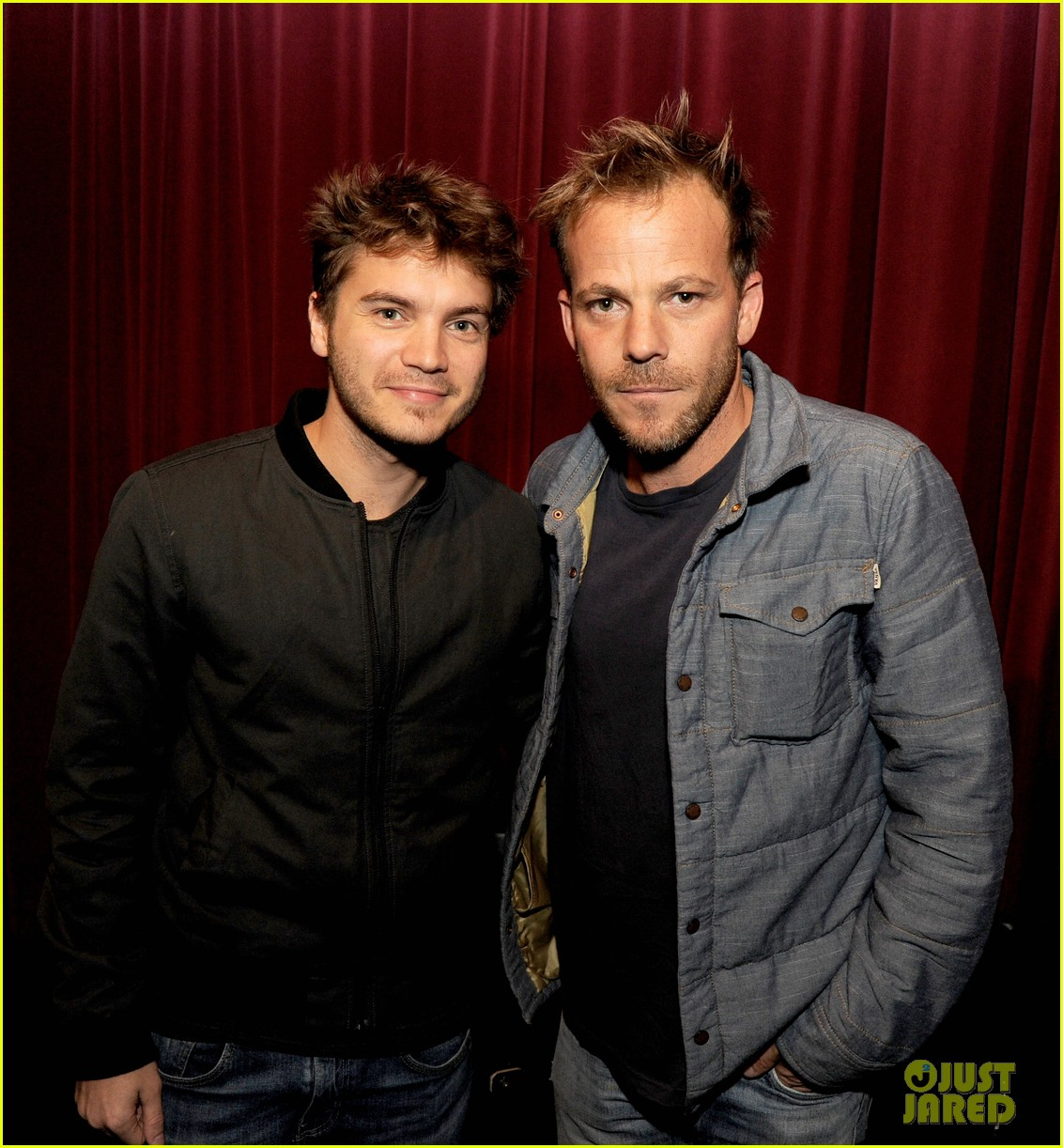 emile hirsch stephen dorff the motel life screening 08