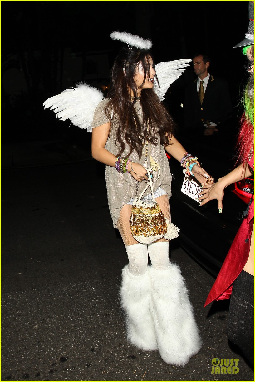 vanessa hudgens angel at casamigos halloween party 2013 062979554