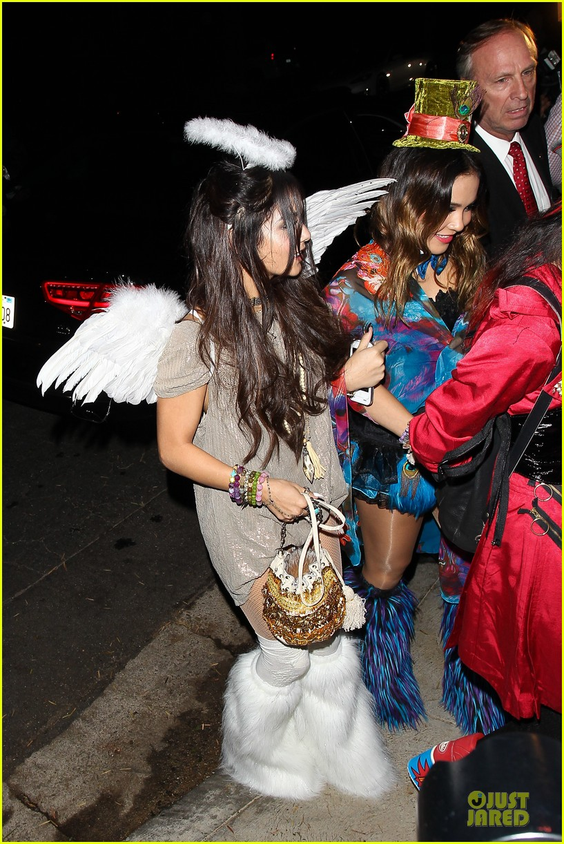 vanessa hudgens angel at casamigos halloween party 2013 10