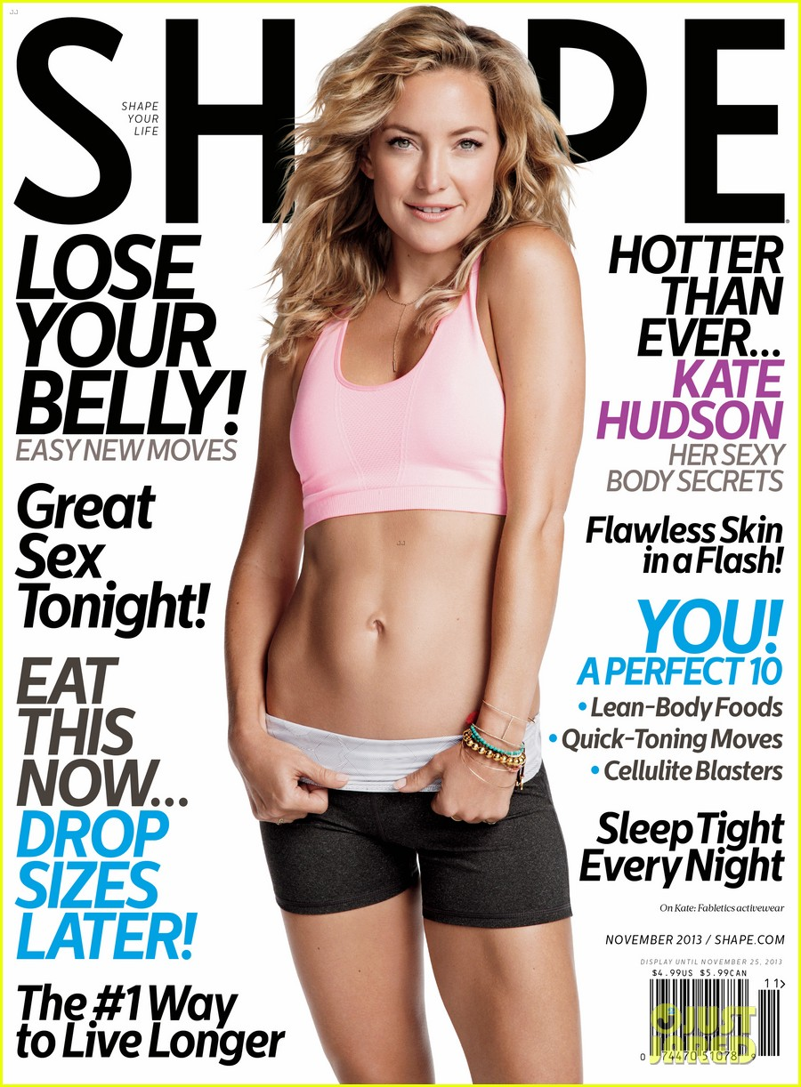 kate hudson bares abs for shape magazine exclusive quotes 022972759