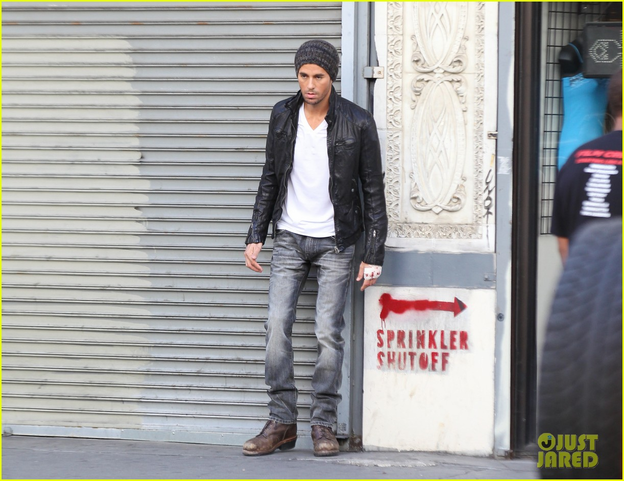 enrique iglesias films heart attack music video 282967629