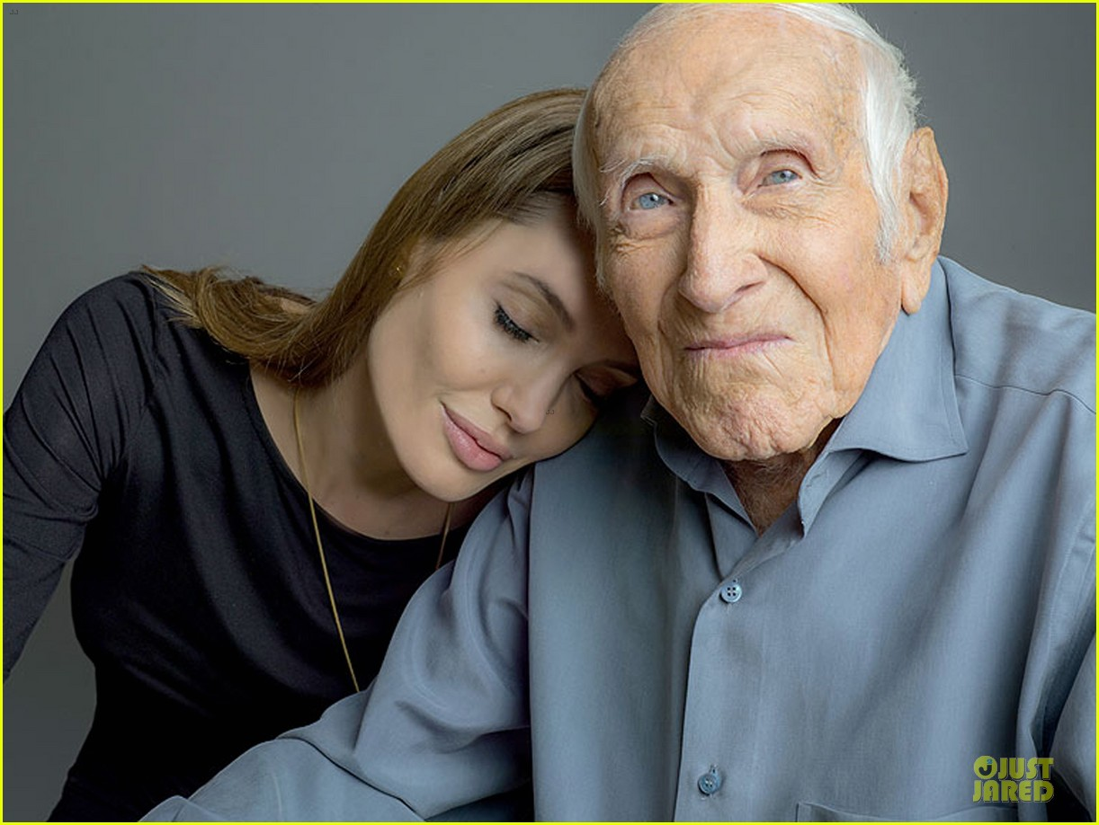 angelina jolie leans on unbroken hero louis zamperini 01