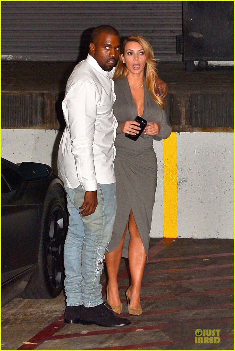 kim kardashian kanye west la opera date night 022970410