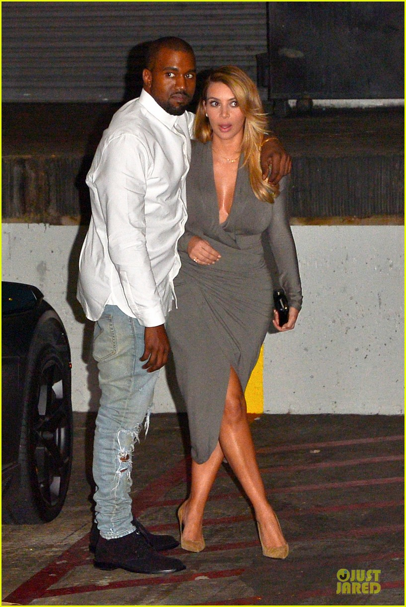 kim kardashian kanye west la opera date night 06