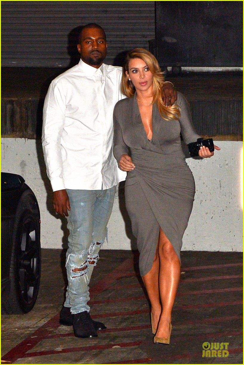 kim kardashian kanye west la opera date night 20
