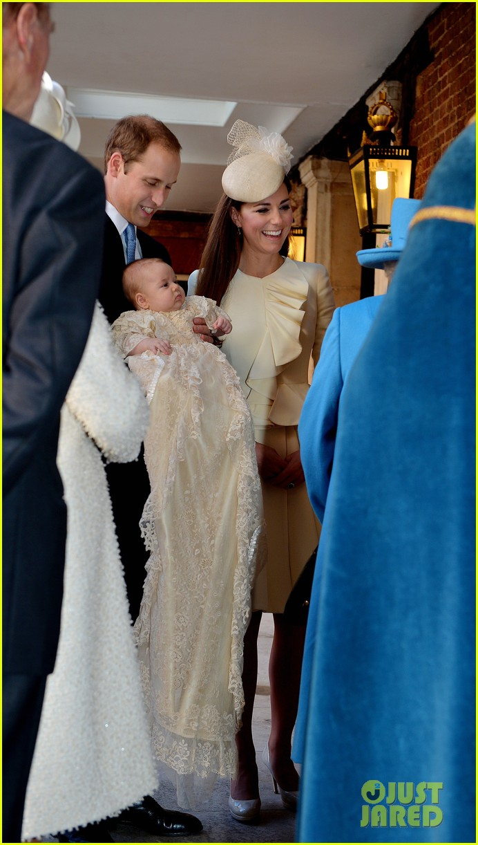 kate middleton prince william prince georges christening see all the pics 01