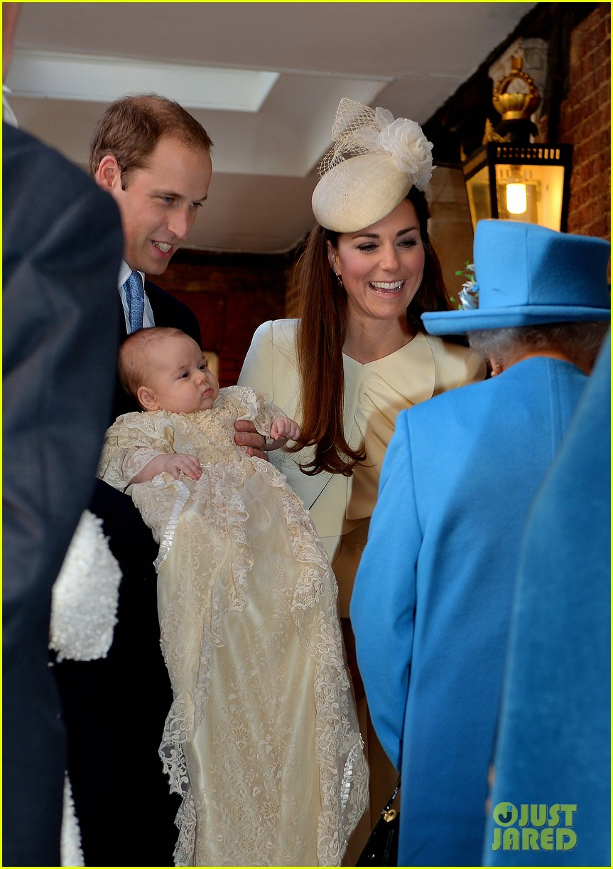 kate middleton prince william prince georges christening see all the pics 132977589