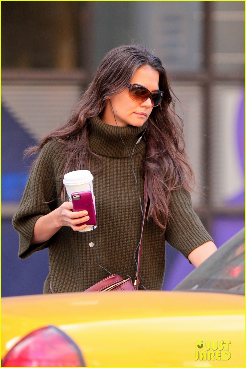 katie holmes i had ombre hair before that was cool 122971196