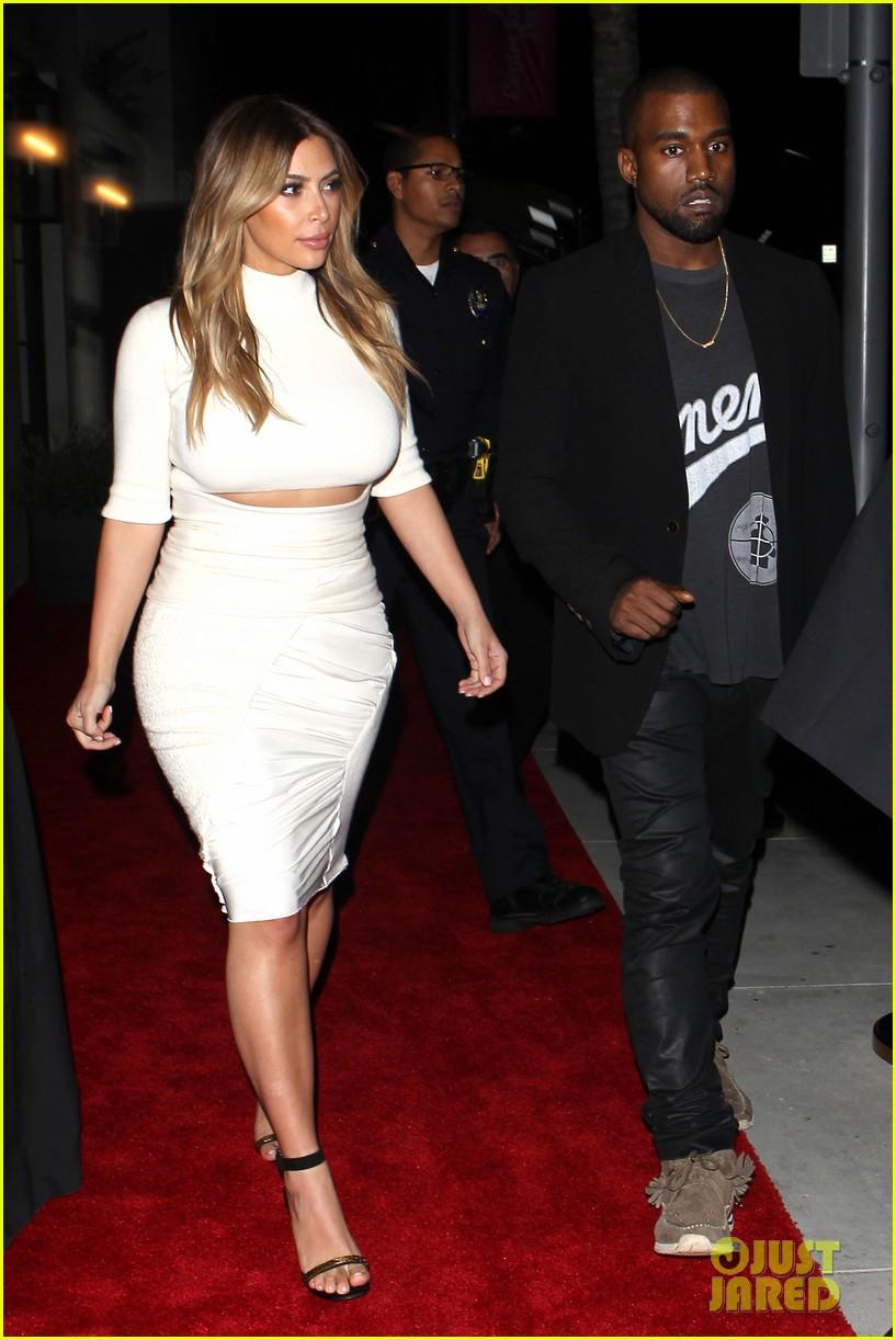 kim kardashian kanye west dream for future africa gala 01