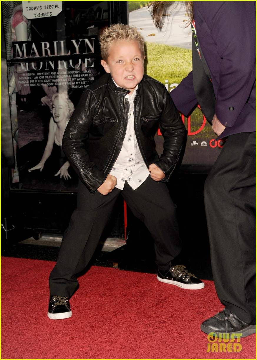 johnny knoxville jackson nicoll bad grandpa premiere 09