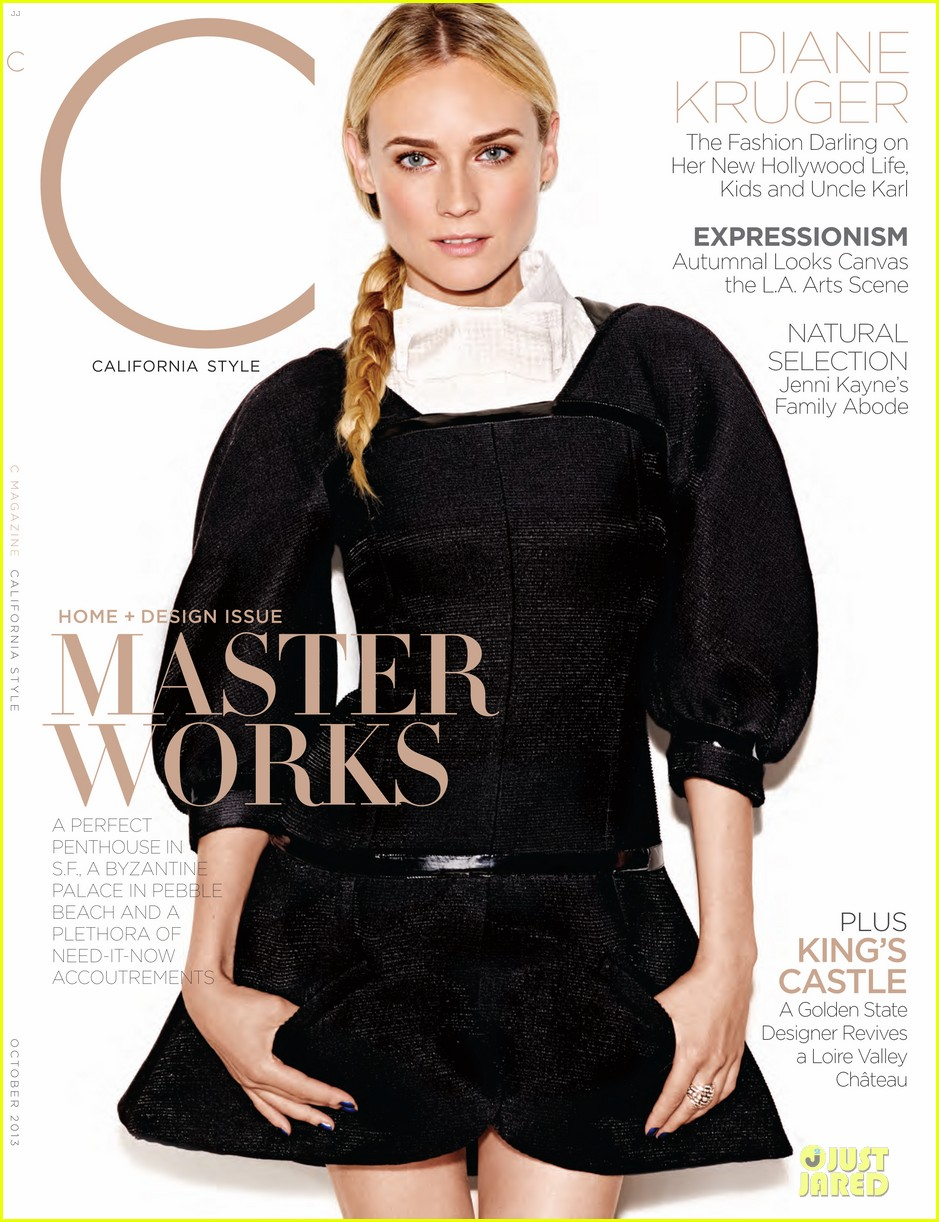 diane kruger covers c magazine october 2013 062968792