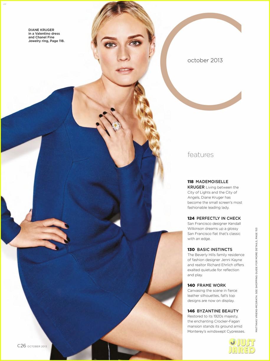 diane kruger covers c magazine october 2013 072968793