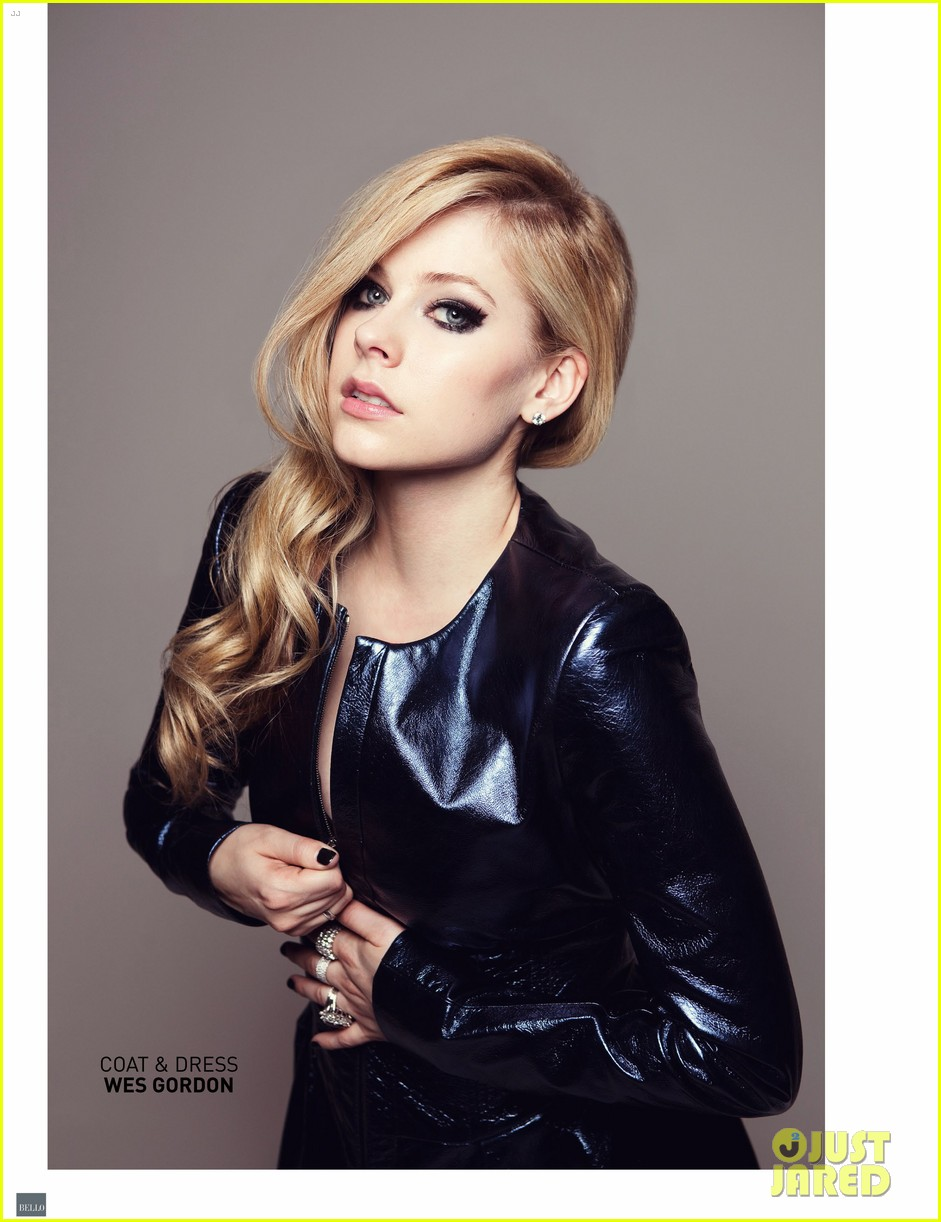 avril lavigne covers bello magazine october 2013 082971333