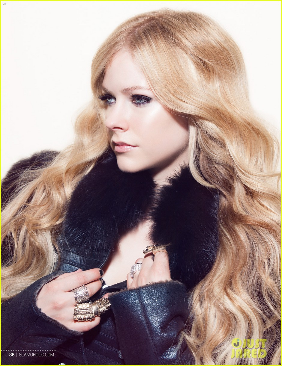 avril lavigne covers glamoholic october 2013 01