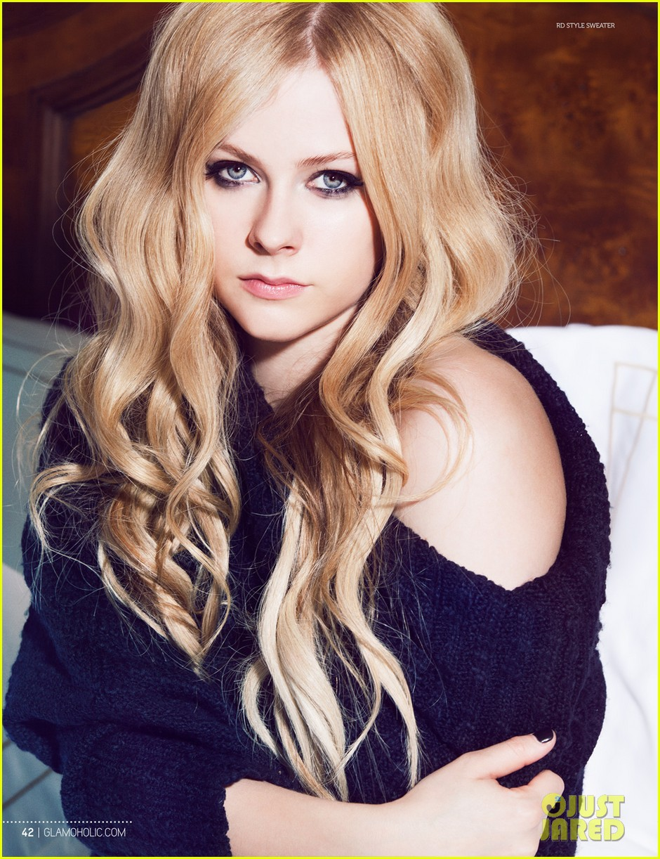 avril lavigne covers glamoholic october 2013 042981581