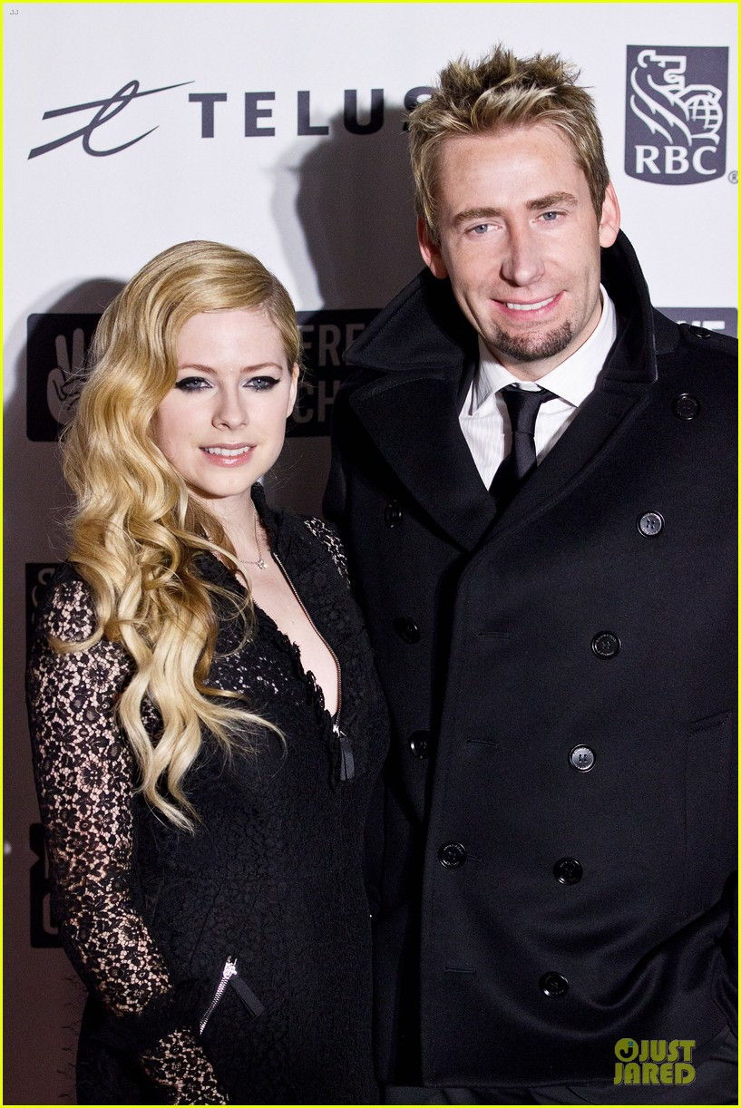 avril lavigne chad kroeger we day couple in vancouver 02