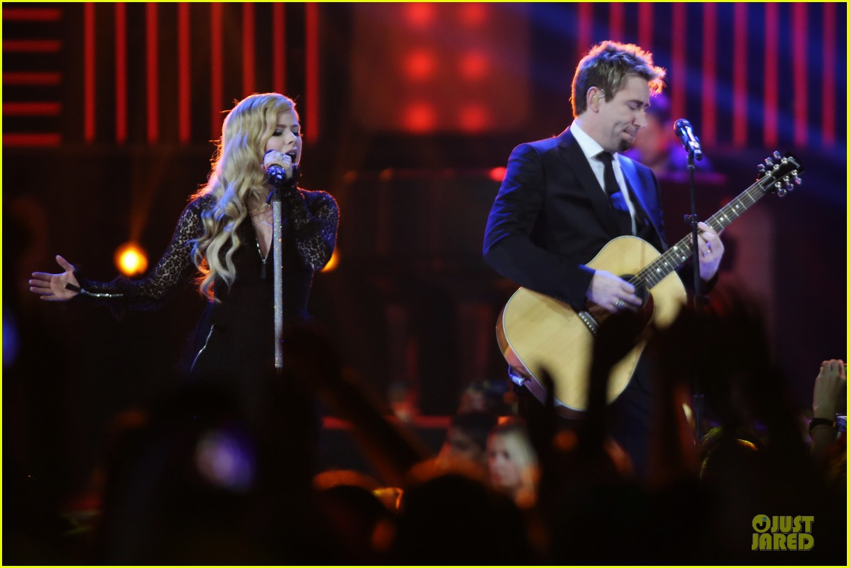 avril lavigne chad kroeger we day couple in vancouver 182974745