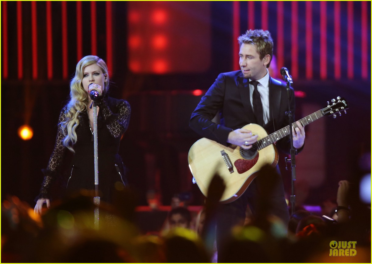 avril lavigne chad kroeger we day couple in vancouver 192974746