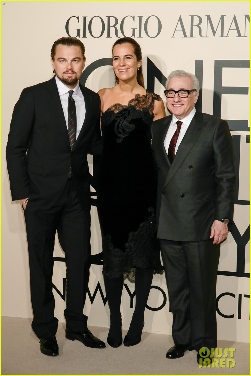 leonardo dicaprio hilary swank georgio armani one night only nyc 122978835