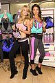 lily aldridge lindsay ellingson display abs at sports bra launch 08