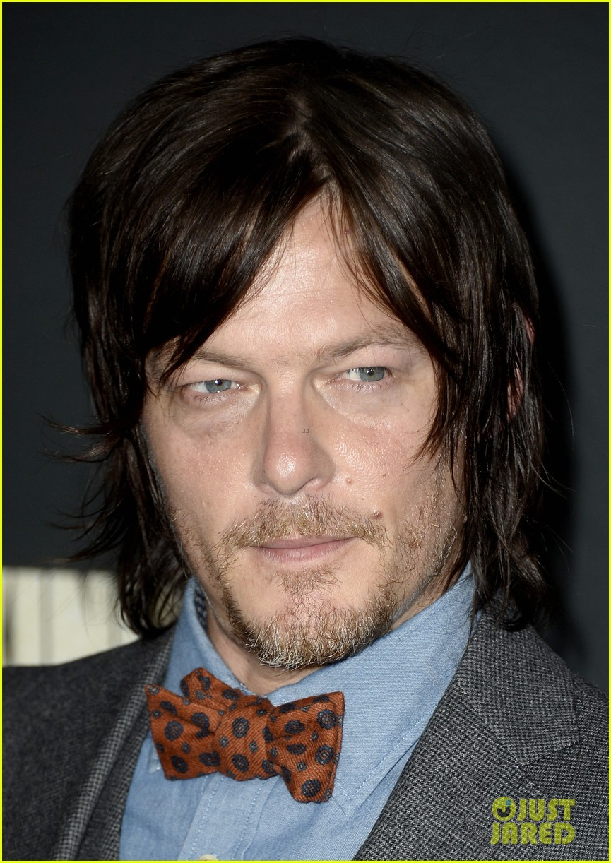 andrew lincoln norman reedus walking dead premiere 03
