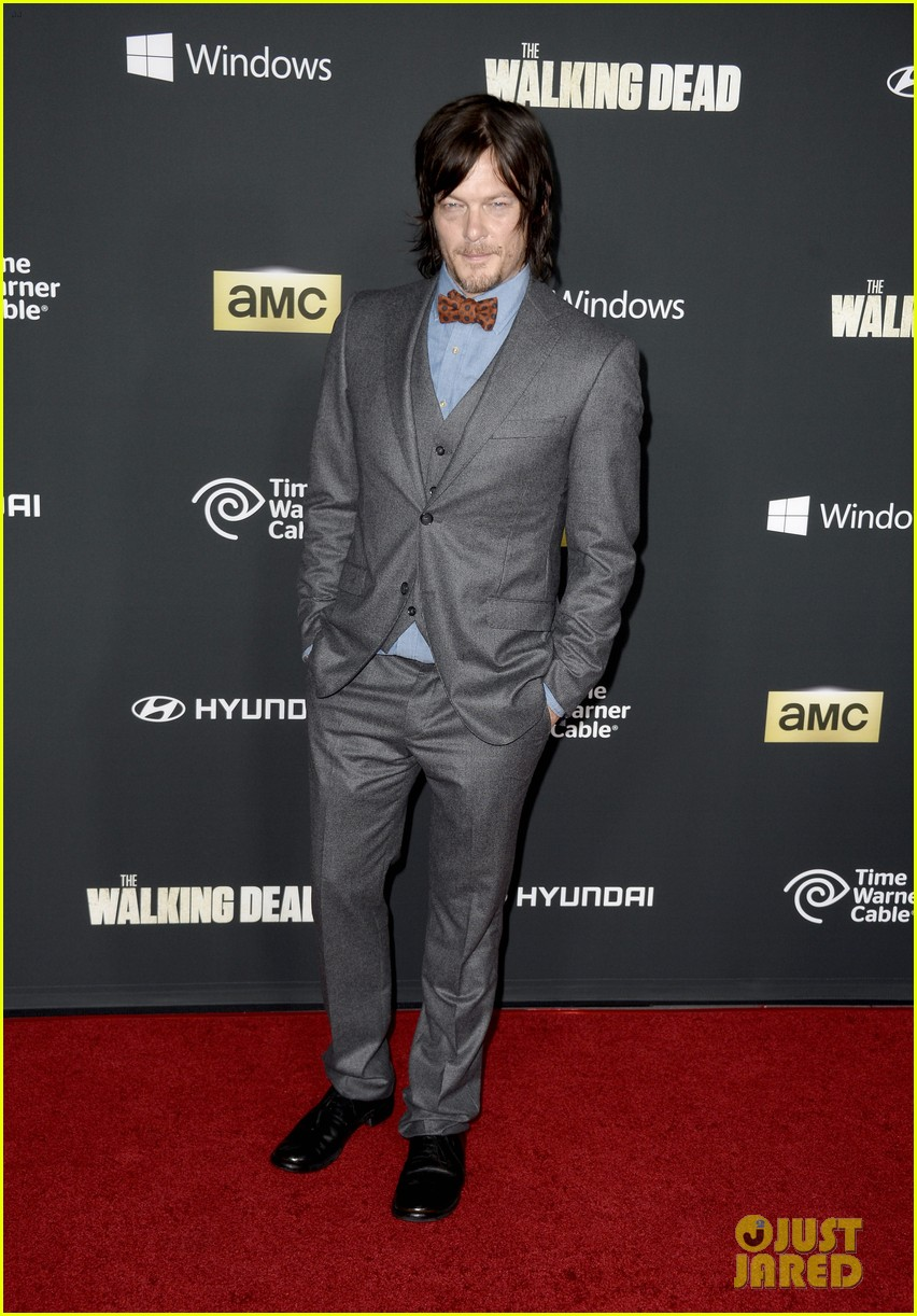 andrew lincoln norman reedus walking dead premiere 11
