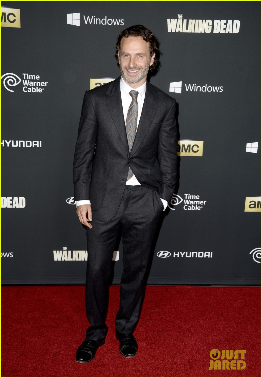 andrew lincoln norman reedus walking dead premiere 12