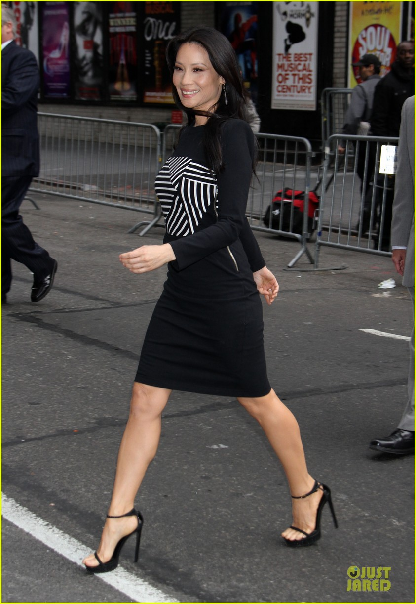 lucy liu mark ruffalo david letterman guests 07
