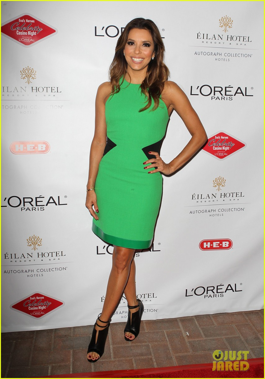 eva longoria evas heroes casino night 2013 07