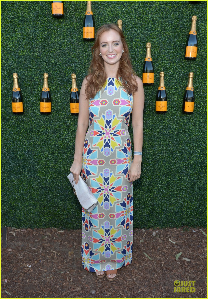 ashley madekwe holland roden veuve clicquot polo classic 2013 13