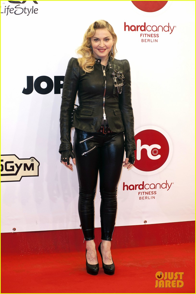 madonna hard candy fitness club opening in berlin 07