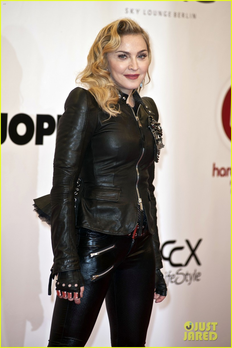 madonna hard candy fitness club opening in berlin 09