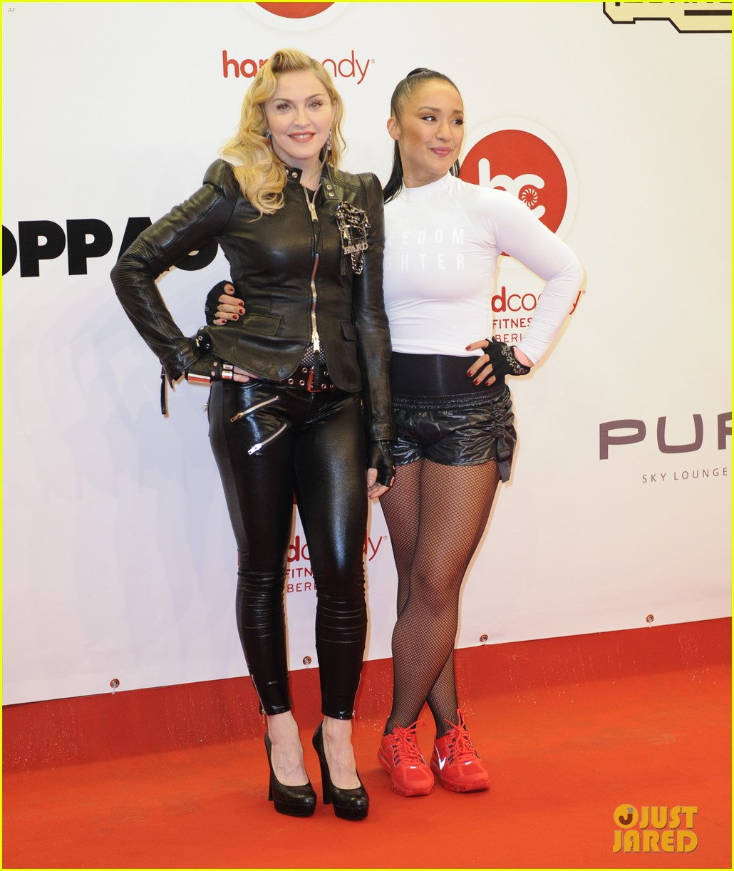 madonna hard candy fitness club opening in berlin 12