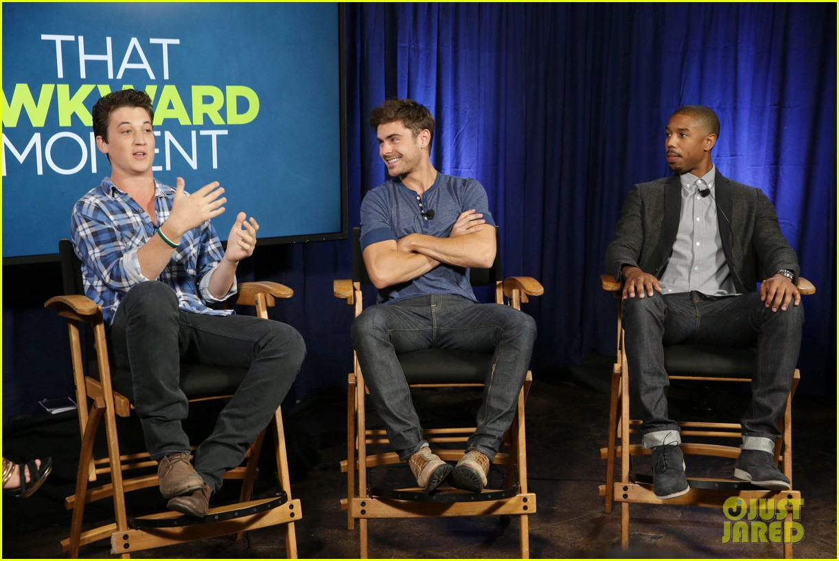 michael b jordan miles teller that awkward moment qa with zac efron 14