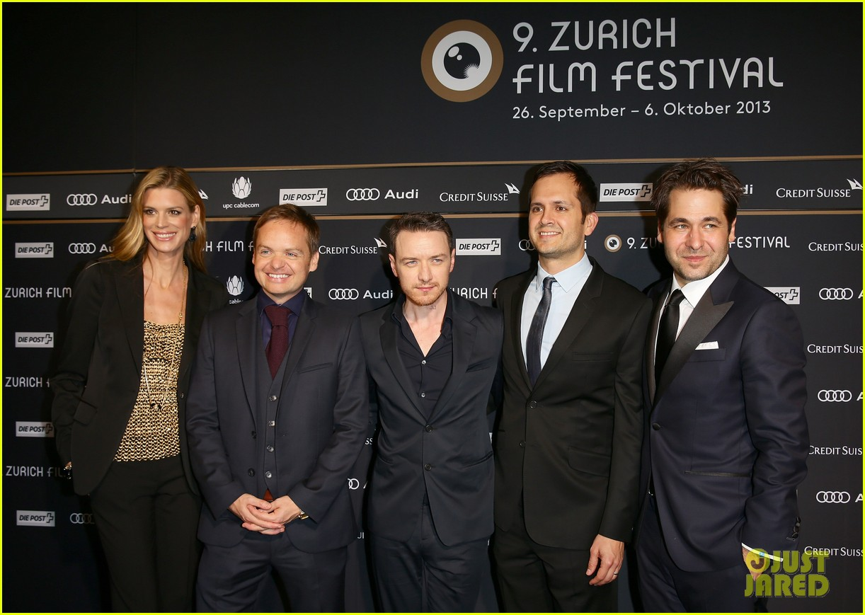 james mcavoy bella heathcote zurich film festival 2013 122965790