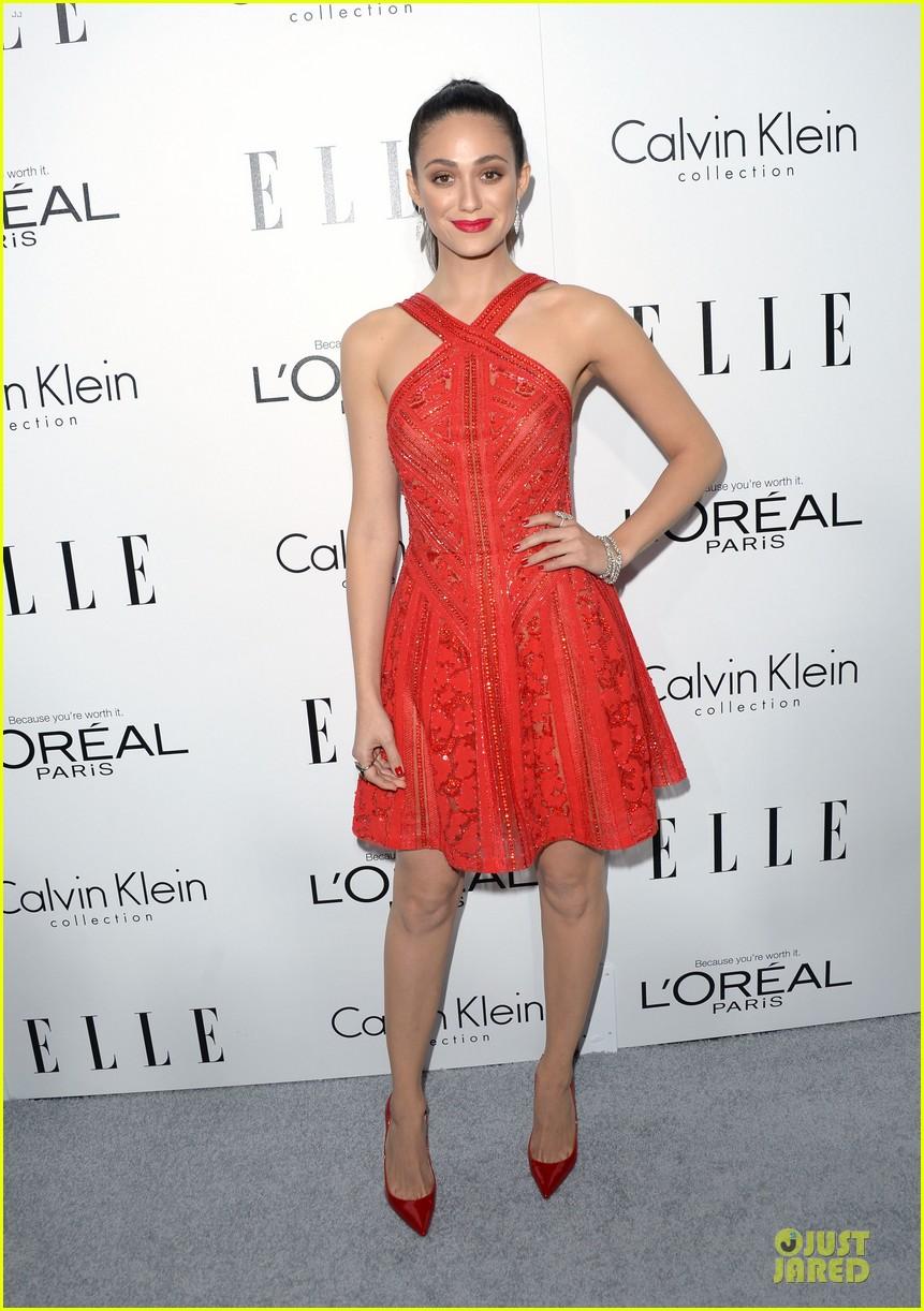 lea michele emmy rossum elle women in hollywood celebration 03
