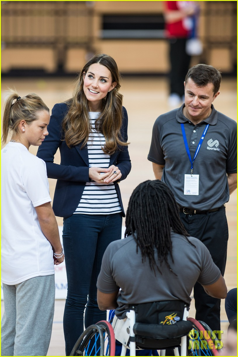 kate middleton sportaid athlete workshop visit 032974283
