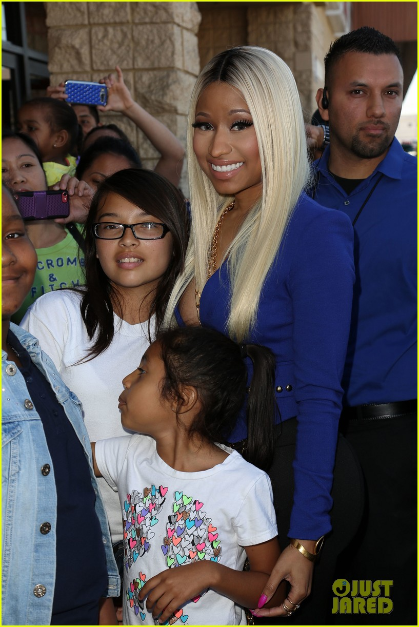 nicki minaj kmart collection shop your way event 102972543