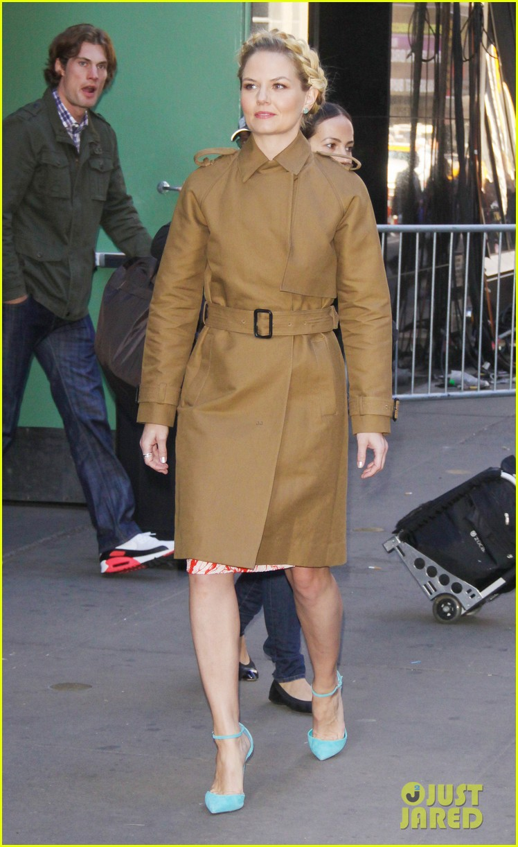 jennifer morrison promotes once upon a time in nyc 042976943