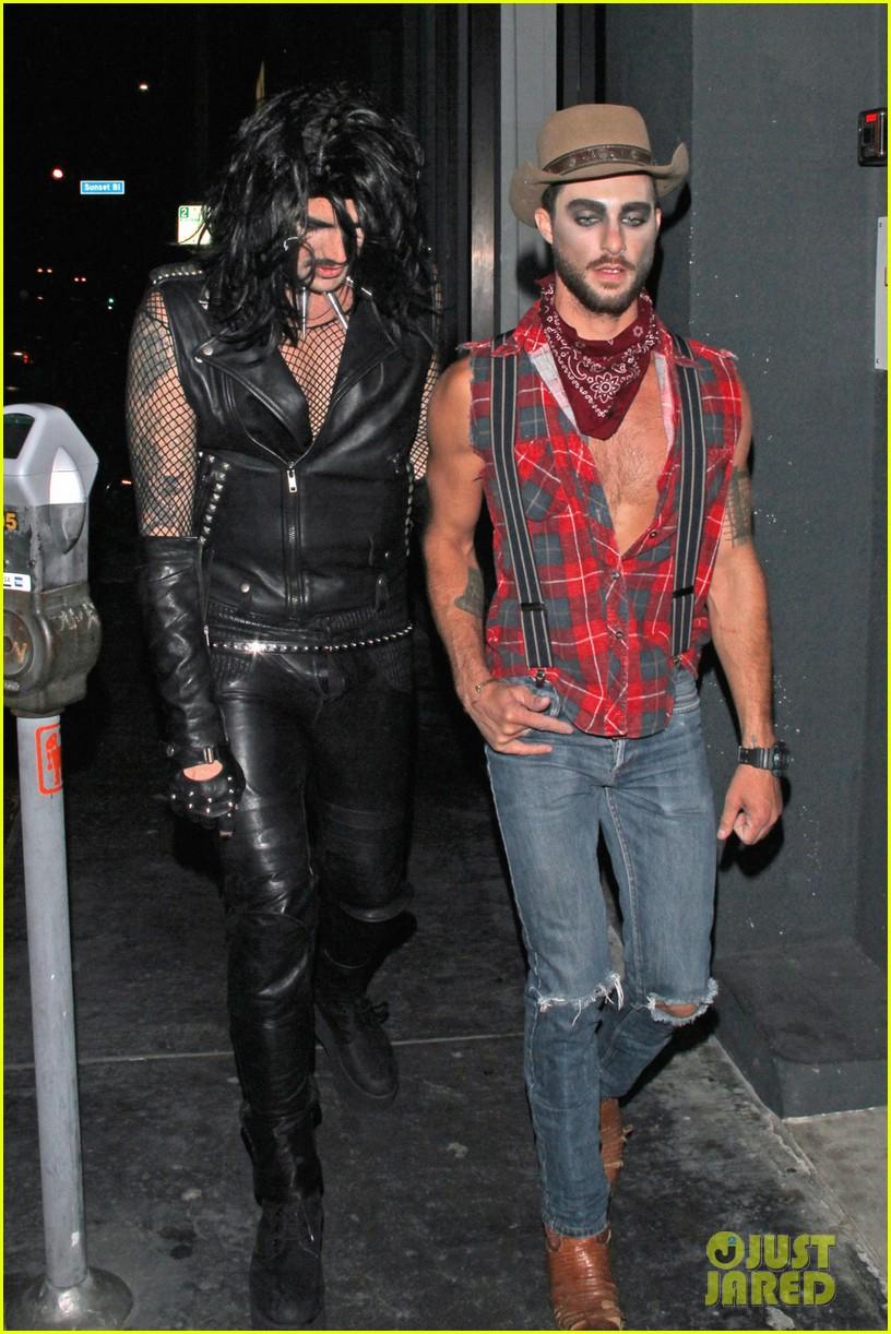 Naya Rivera & Adam Lambert Hit Up Some Halloween Parties!: Photo ...