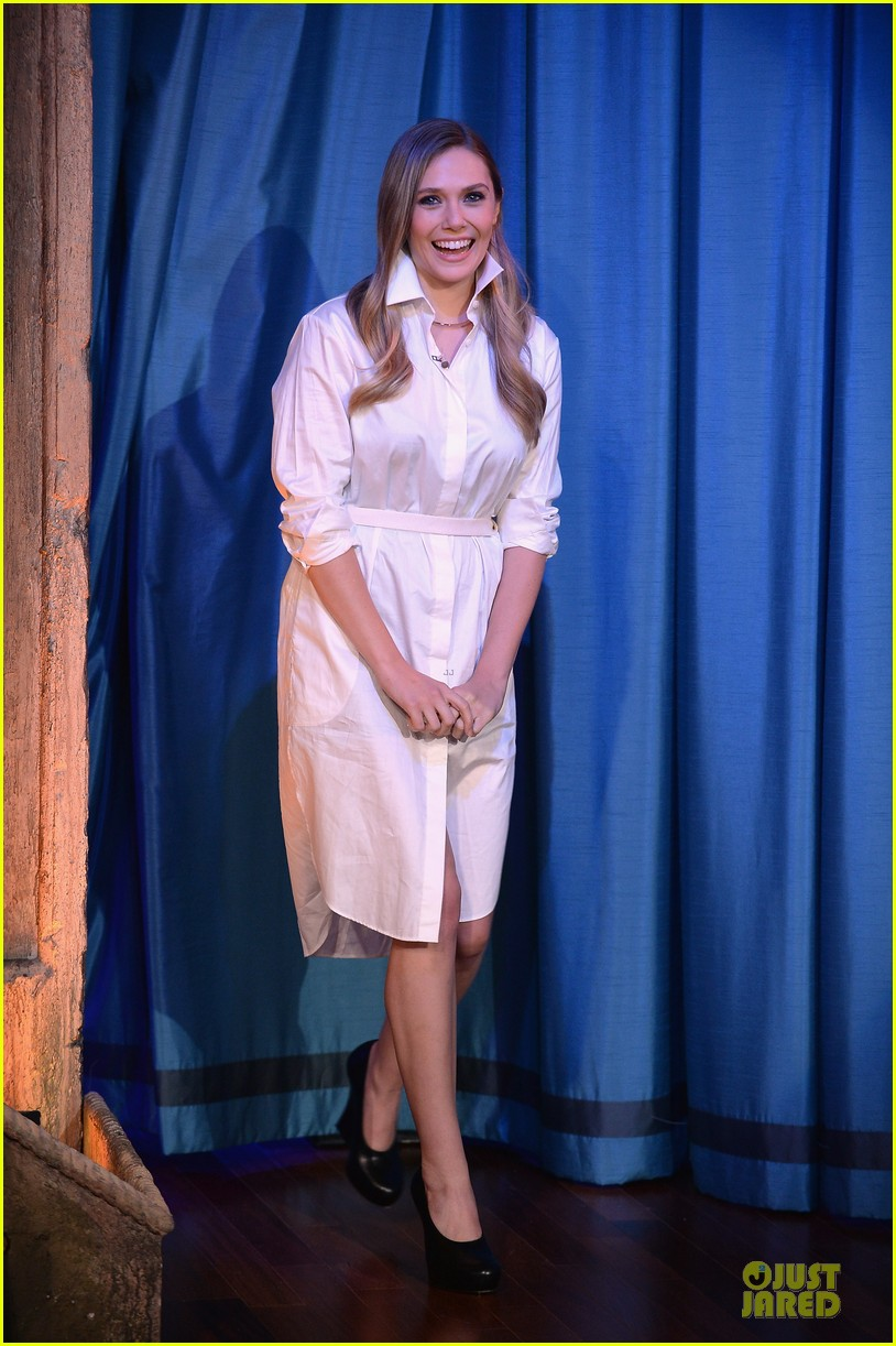 elizabeth olsen kill your darlings on fallon 05