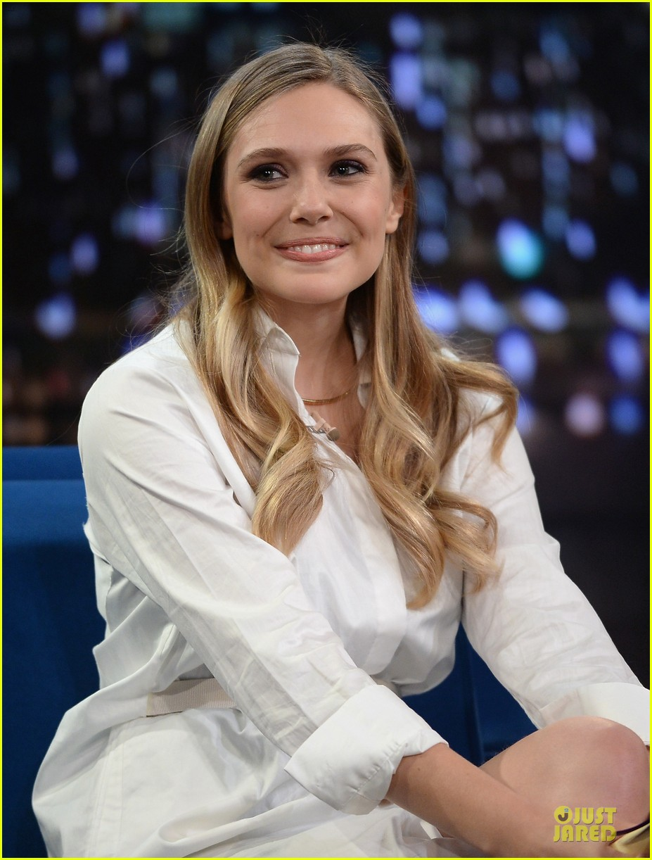 elizabeth olsen kill your darlings on fallon 112963605