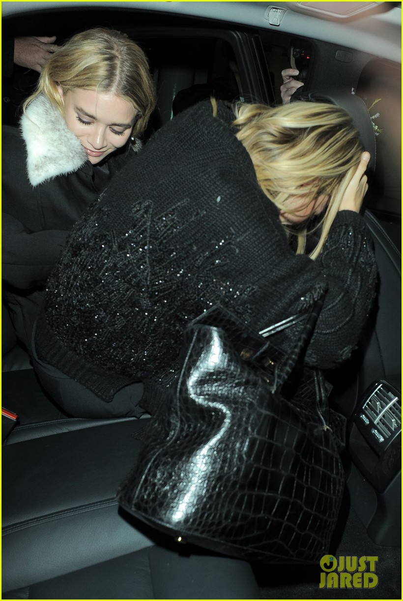 mary kate ashley elizabeth olsen night out in seperate countries 02