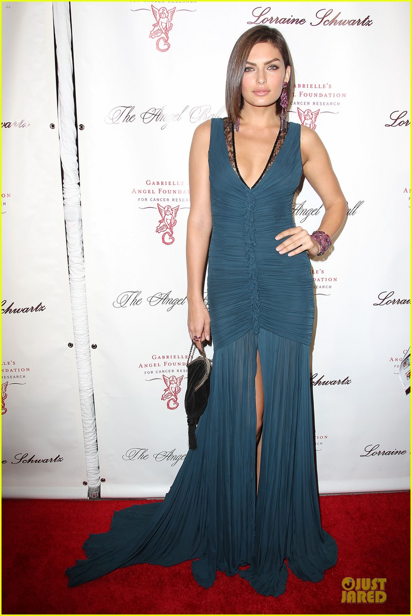 rita ora alyssa miller angel ball 2013 05