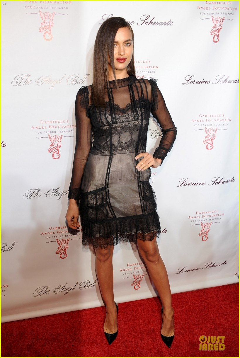rita ora alyssa miller angel ball 2013 06